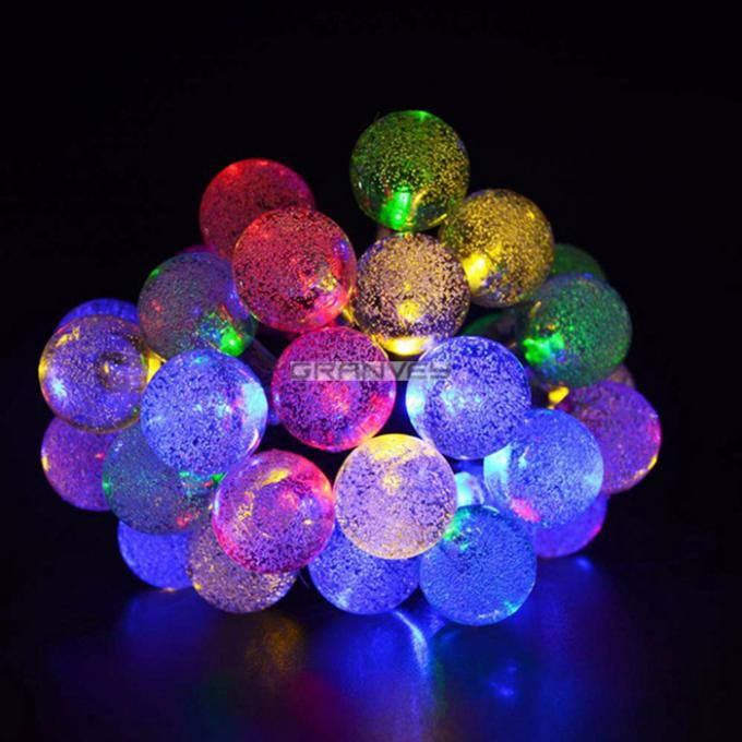 Bubble Balls Decorative LED String Lights 6M 30 LED For Holiday Party Decoration