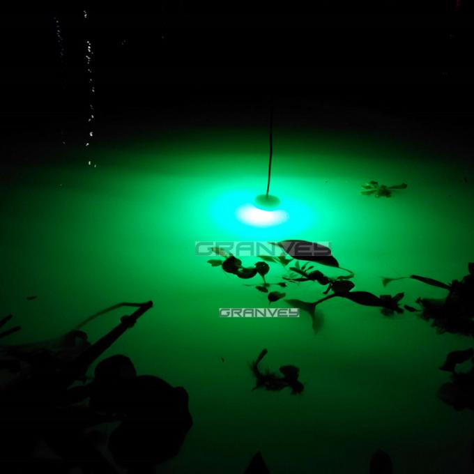 Deep Drop Submersible LED Fishing Lights Underwater Attracting Fish Lamp Green Squid 12V 24V