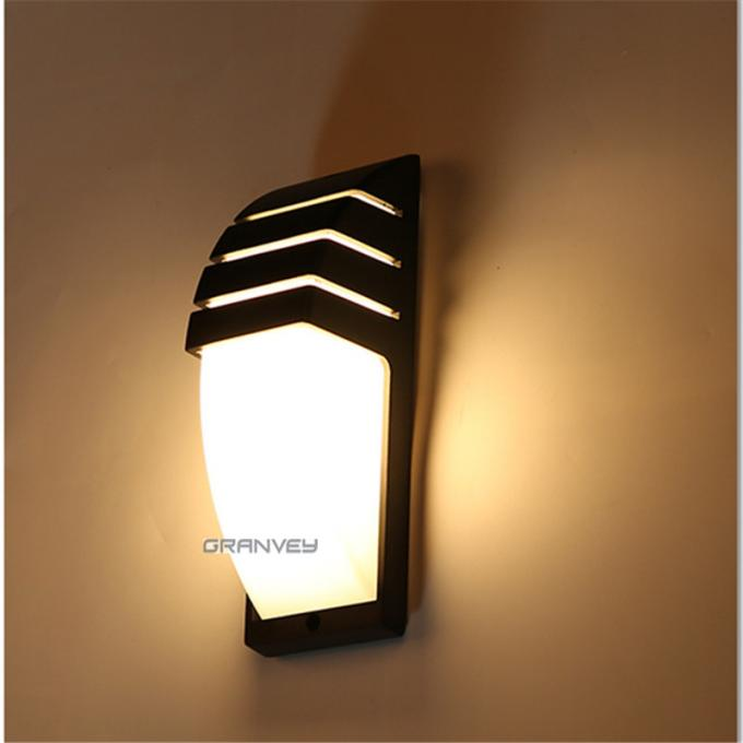 Shell Shape Up And Down Garden Lights , LED Outdoor Wall Lights With Spotlight Bulb Socket