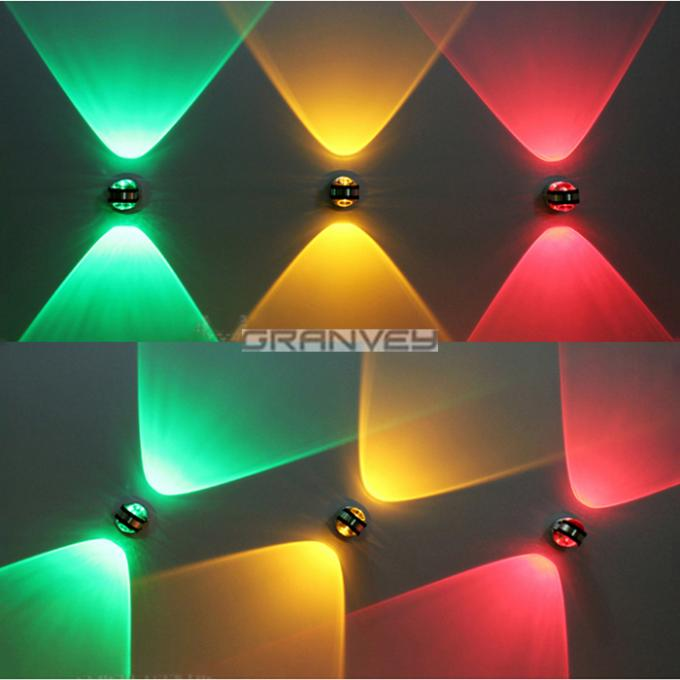 2W 6W Up And Down Mini Size Indoor LED Wall Light Small Ball Decorative Lamp