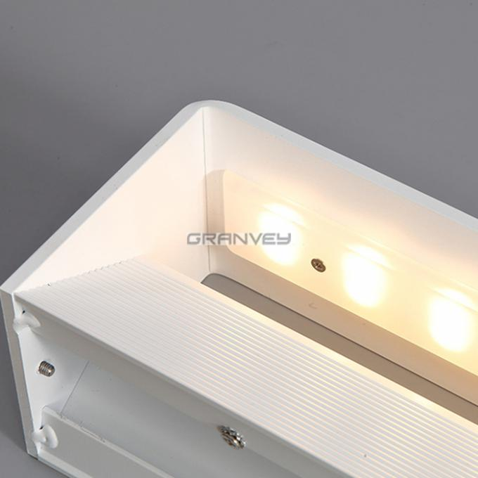 12 Watt White Indoor LED Wall Lights Rectangular Shape CE ROHS FCC Certificated