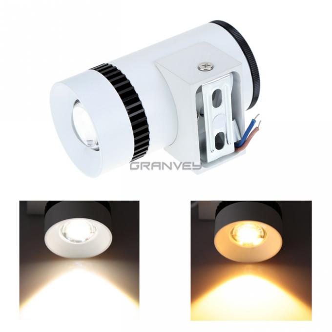 Single Head Wall Mounted LED Lights , Indoor Wall Sconces 3W COB IP54 Durable