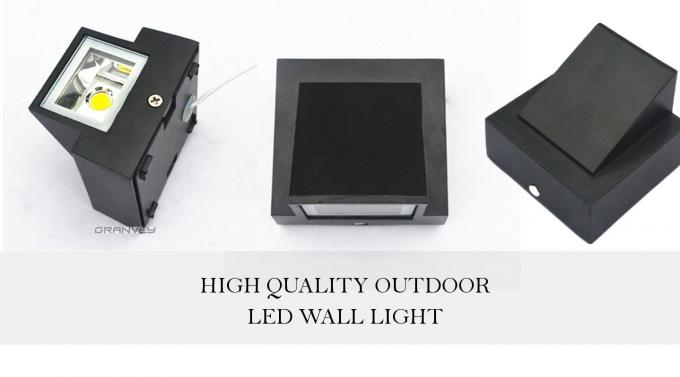 3W Waterproof Outdoor Wall Mounted LED Wall Lights For Decoratings Ideas