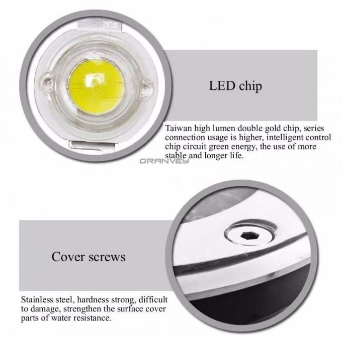 Outdoor Inground Led Buried Light Waterproof 1w For Garden Path Step