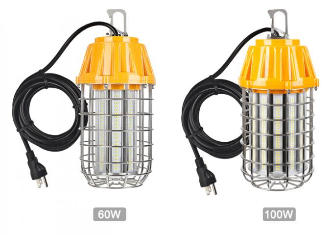 Temporary Construction Site Lighting Portable 60W / 100 W UL DLC Certified