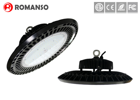 Round UFO Shape Industrial LED Lighting 200 W With 5 Years Warranty