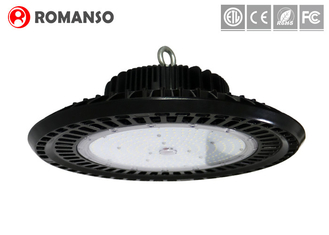 UFO Industrial High Bay LED Lighting , Motion Sensor Warehouse LED Round High Bay