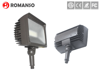 50 Watt Architectural LED Flood Lights Thin / Light Weight With Motion Sensor
