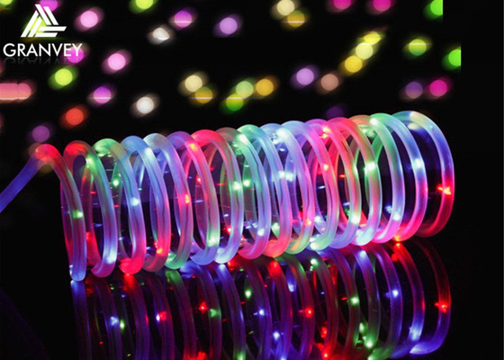 China 100LEDs Solar Rope Christmas Lights , 10M Solar Powered Christmas String Lights  supplier