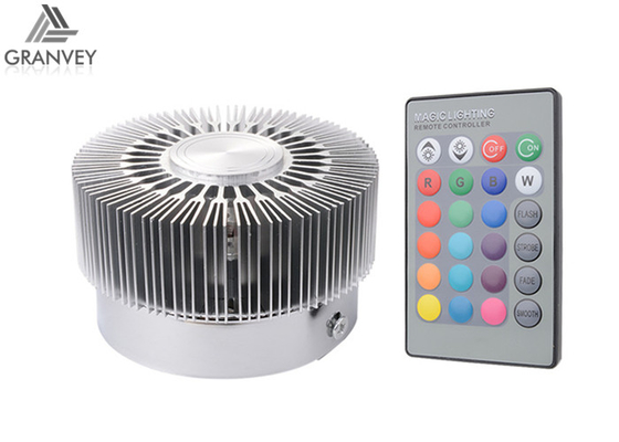 China Sunflower Shape 3W RGB Colorful Indoor LED Wall Light Surface Embedded Mounted supplier