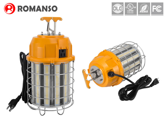 UL DLC Listed LED Temporary Work Lights 150W 18,000 Lumens 5000K