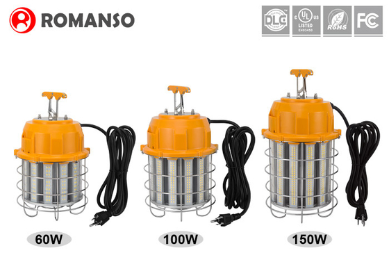 Temporary Job Site Lighting 60W 100W 150W Outdoor Construction Temporary LED Light
