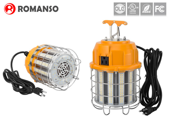 60W 100W 150W LED Temporary Work Lights 12000lm With Aluminum Cage