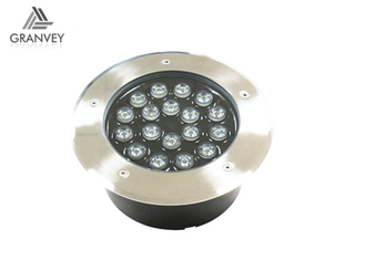 China Floor Inground Landscape Rgb Led Underground Lamp Buried Outdoor Ac85 - 265v supplier