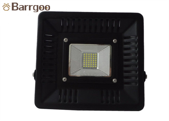 China IP65 50w Outdoor LED Flood Lights Ultra Thin 6000 Lumens CE ROHS Certificated supplier
