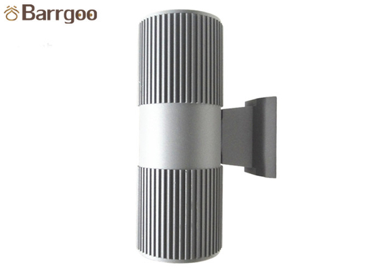China Cylinder Dual Heads LED Outdoor Wall Lights 2x9W IP65 For Garden Lighting supplier
