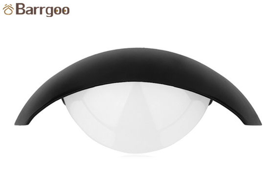 China Moon Shape 8W Waterproof LED Wall Lamp Shine Down Outdoor Building Decoraction supplier