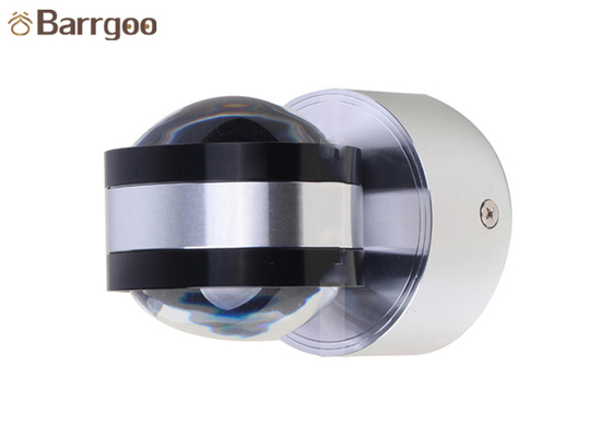 China 2W 6W Up And Down Mini Size Indoor LED Wall Light Small Ball Decorative Lamp supplier