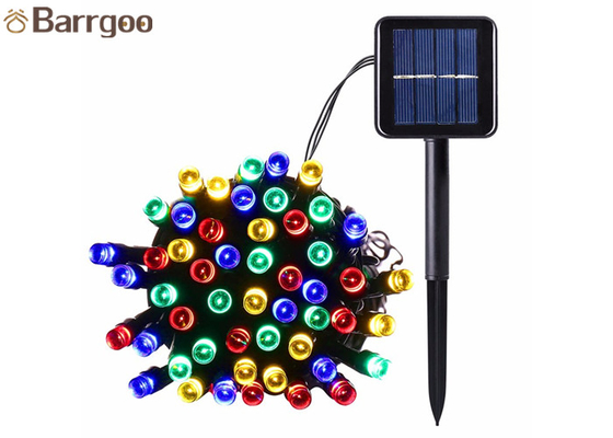 China 12M 100LED Holiday Solar LED Christmas Lights IP 65 8-15 Hours Lighting Time supplier