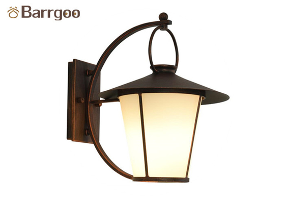 China Retro Antique LED Outdoor Wall Lights Iron Metal Wall Light Fixtures Hotel Store Balcony supplier