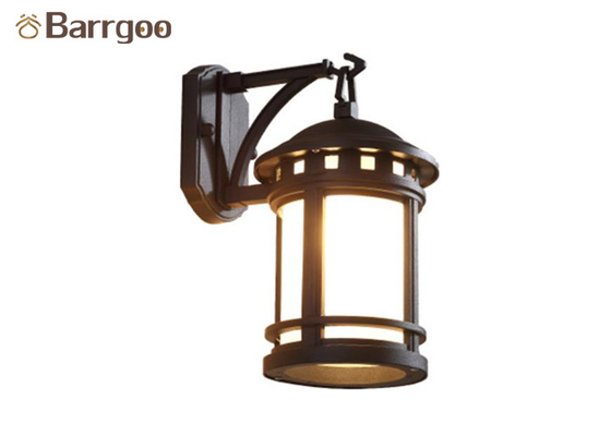 China American Country Vintage Aluminum Garden Wall Light Sconce With E27 Bulb Socket supplier