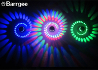 China 3W Colorful Aluminum Spiral Indoor LED Wall Lights For  KTV Karaoke Bar factory