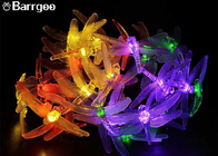 China Dragonfly 20 Led Decorative LED String Lights AA Battery 4.8M Length Holiday Decoration factory