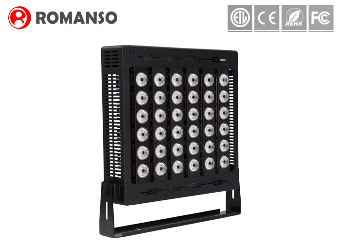 High Power Outdoor LED Tennis Court Lighting 39000LM 300W CE Rohs Certification