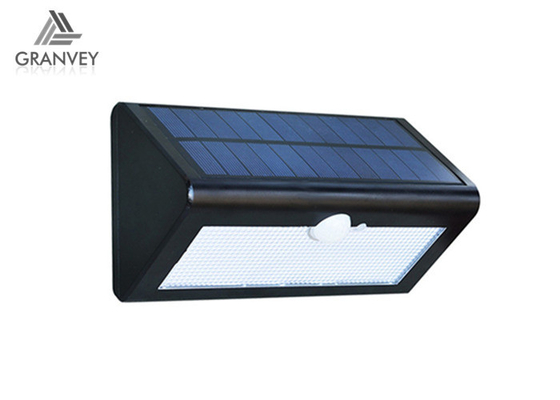 500LM Waterproof Solar LED Wall Light Integrated 4 Wattage For Outdoor Garden