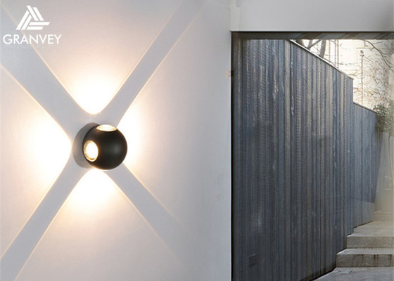 Corridor Stair LED Outdoor Wall Lights Nordic Style Art Black Creative Ball Shaped