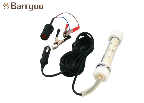 50W Fish Attractant Light , Underwater Fishing LED Lights For Boats Submersible Lure Baits