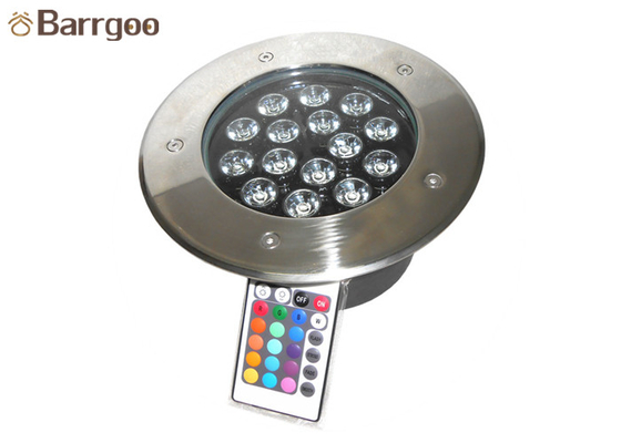 China Dustproof Underground Led Spotlight Ip67 Waterproof 15w With 15pcs Led factory