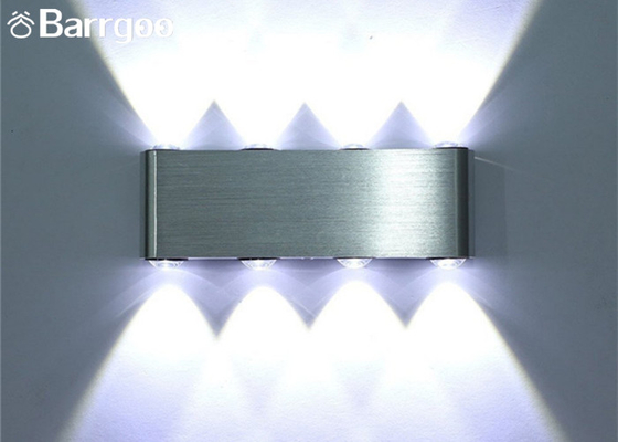 AC85-265V 8W LED Interior Wall Lights Aluminum Surface Mounted IP54 For Hallway
