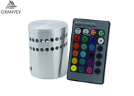 Hollow Cylinder Spiral 1W 3W Indoor LED Wall Light RGB With Remote Controller